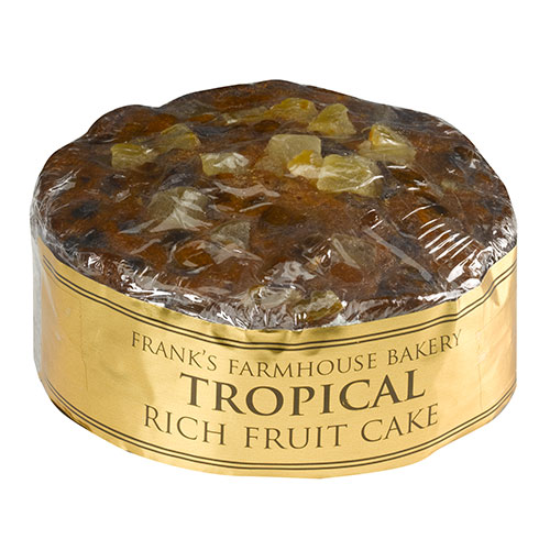 tropical rich fruit cake