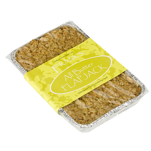 all butter flapjack