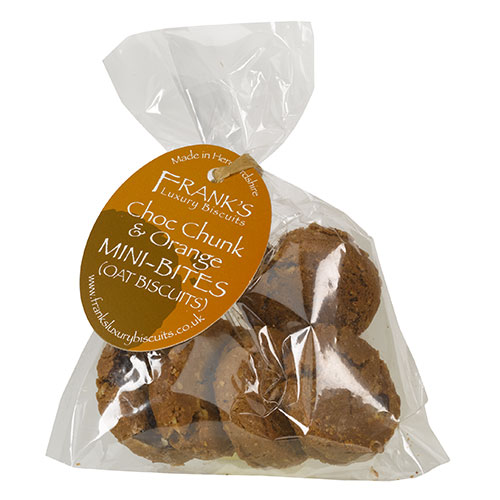 choc chunk orange mini bag